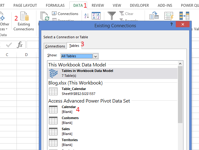 DAX Table Query Example | Power Pivot | Tiny Lizard